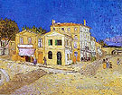 Vincent's House at Arles The Yellow House - Vincent van Gogh