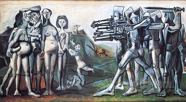 Pablo Picasso Massacre in Korea (1951)