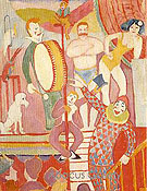 Circus Picture II 1911 - August Macke