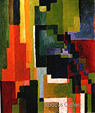 Coloured Forms II 1913 - August Macke