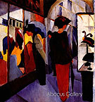 Hat Shop 1913 - August Macke