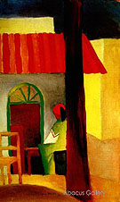Turkish Cafe I 1914 - August Macke