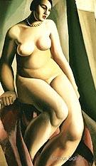Seated Nude 1925 - Tamara de Lempicka