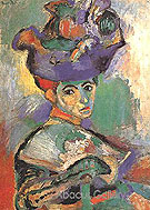 Woman with the Hat - Henri Matisse
