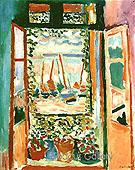 The Open Window at Collioure 1905 - Henri Matisse