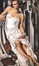 Portrait of Mrs Alan Bott 1930 - Tamara de Lempicka