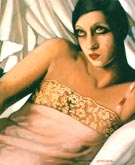 La Chemise Rose 1933 - Tamara de Lempicka