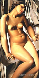 Nude with Sails 1931 - Tamara de Lempicka