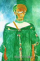 The Standing Ruffian 1913 - Henri Matisse