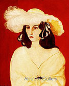 The White Plumes 1919 - Henri Matisse