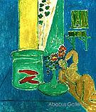 Goldfish and Sculpture 1912 - Henri Matisse