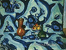 Still Life with Blue Tablecloth 1909 - Henri Matisse