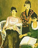The Three Sisters 1917 - Henri Matisse