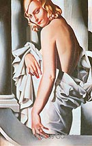 Portrait of Majorie Ferry - Tamara de Lempicka