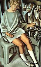 Kizette on the Balcony 1927 - Tamara de Lempicka