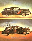 Clothes Automobile 1941 - Salvador Dali