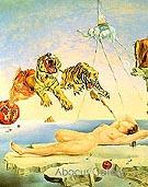 Dream Caused by Flight 1944 - Salvador Dali