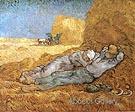Noon Rest 1890 - Vincent van Gogh